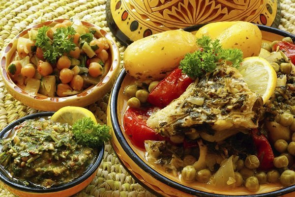 Morocco, second best travel destinations for food lovers